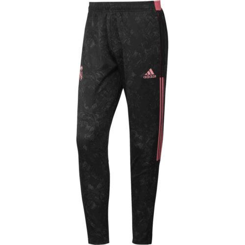 adidas Real Madrid All Over Print Training Pants – Black