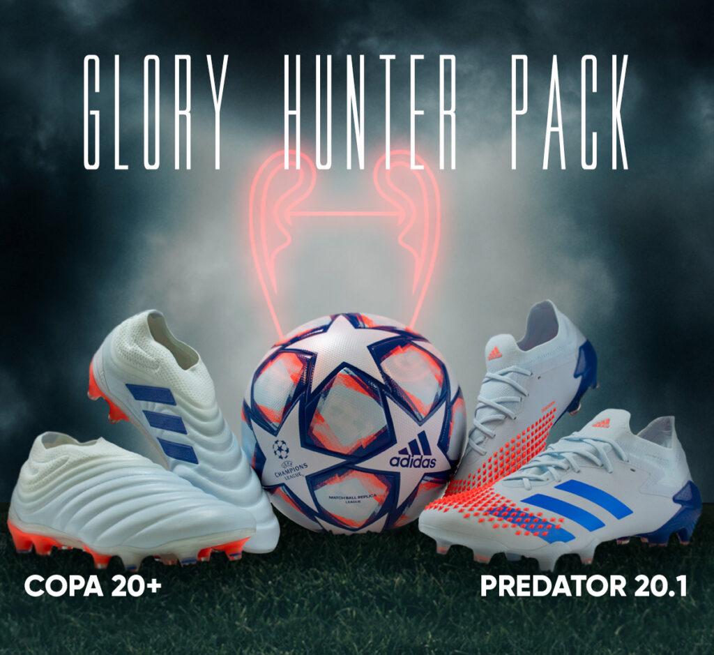 adidas Glory Hunter pack COPA and Predator