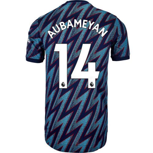 2021/22 adidas Pierre-Emerick Aubameyang Arsenal 3rd Authentic Jersey