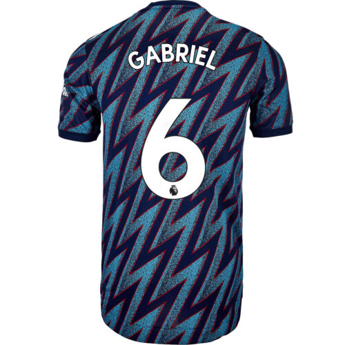 2021/22 adidas Gabriel Arsenal 3rd Authentic Jersey