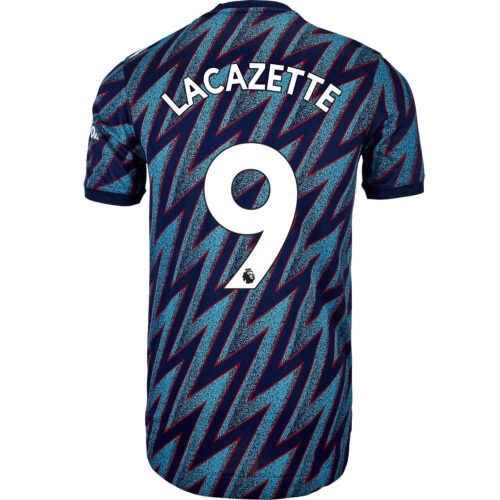 2021/22 adidas Alexandre Lacazette Arsenal 3rd Authentic Jersey