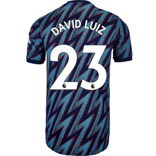 2021/22 adidas David Luiz Arsenal 3rd Authentic Jersey