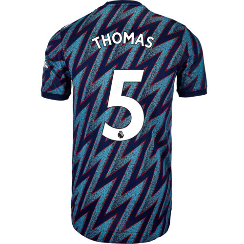 2021/22 adidas Thomas Partey Arsenal 3rd Authentic Jersey