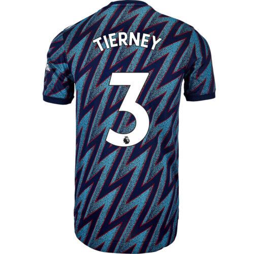 2021/22 adidas Kieran Tierney Arsenal 3rd Authentic Jersey