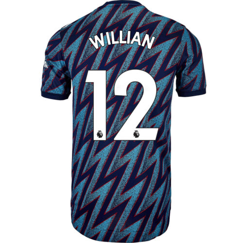 2021/22 adidas Willian Arsenal 3rd Authentic Jersey