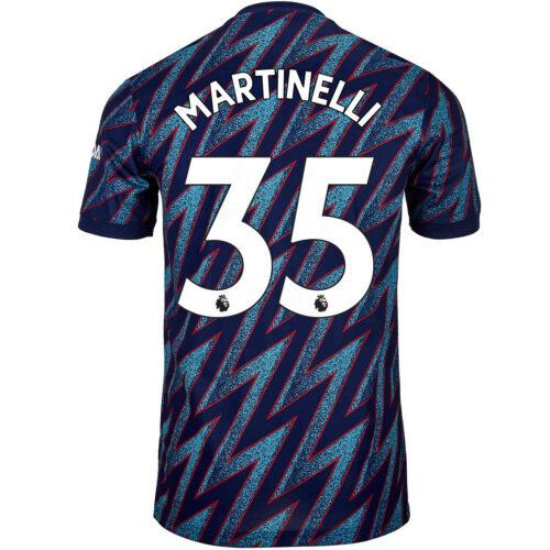 2021/22 adidas Gabriel Martinelli Arsenal 3rd Jersey