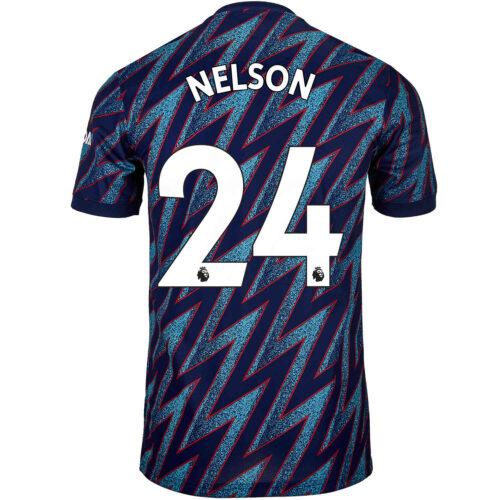 2021/22 adidas Reiss Nelson Arsenal 3rd Jersey