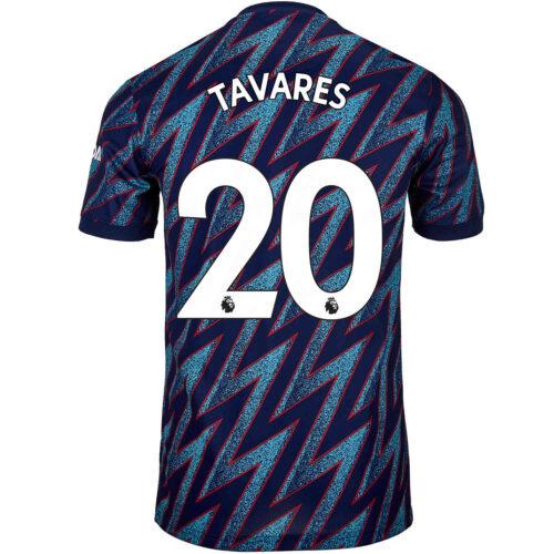 2021/22 adidas Nuno Tavares Arsenal 3rd Jersey