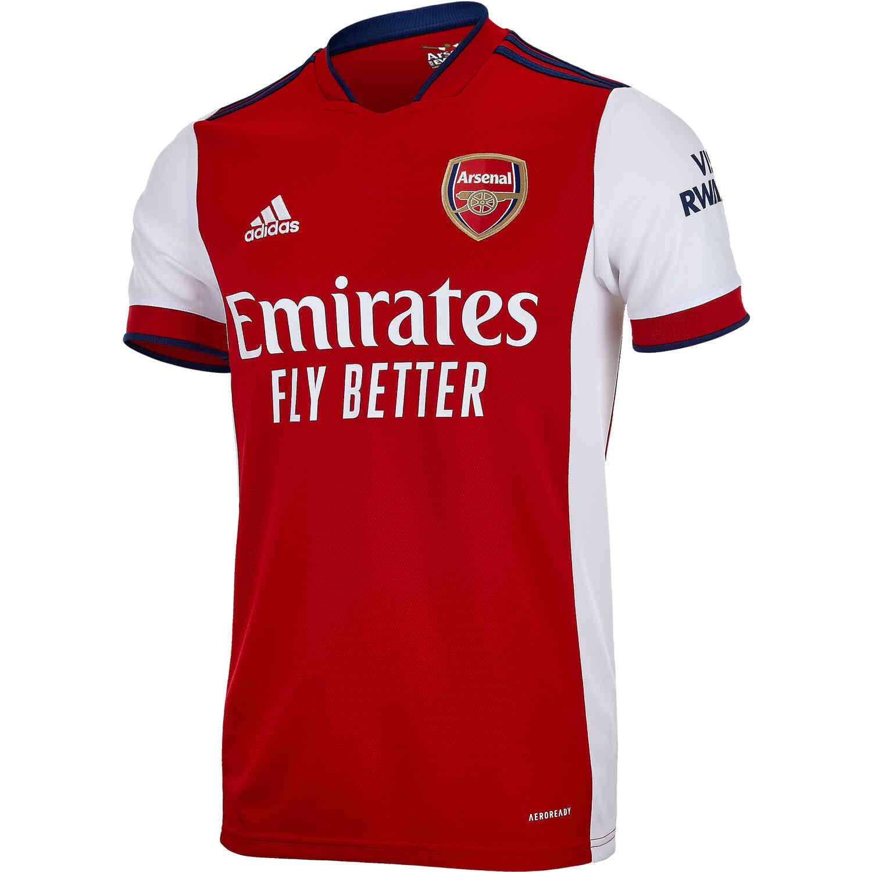 2021/22 adidas Arsenal Home Jersey - SoccerPro