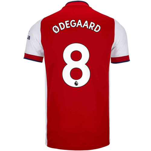 2021/22 adidas Martin Odegaard Arsenal Home Jersey