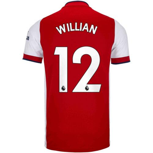 2021/22 adidas Willian Arsenal Home Jersey