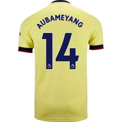 2021/22 adidas Pierre-Emerick Aubameyang Arsenal Away Jersey