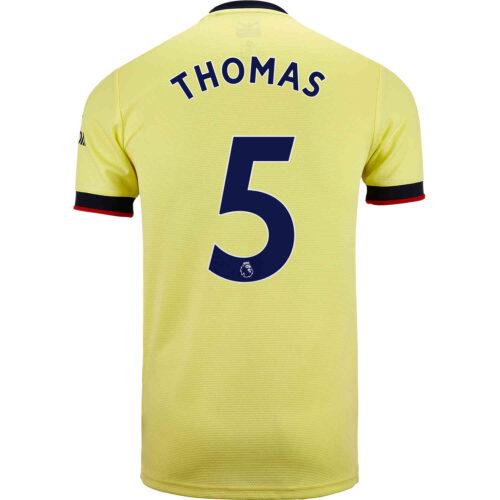 2021/22 adidas Thomas Partey Arsenal Away Jersey