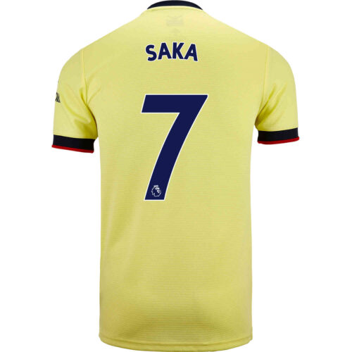 2021/22 adidas Bukayo Saka Arsenal Away Jersey