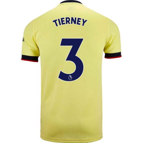 2021/22 adidas Kieran Tierney Arsenal Away Jersey
