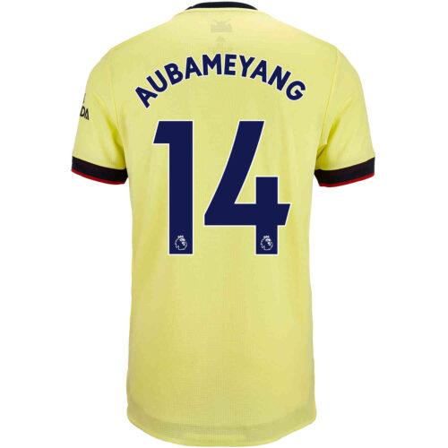 2021/22 adidas Pierre-Emerick Aubameyang Arsenal Away Authentic Jersey
