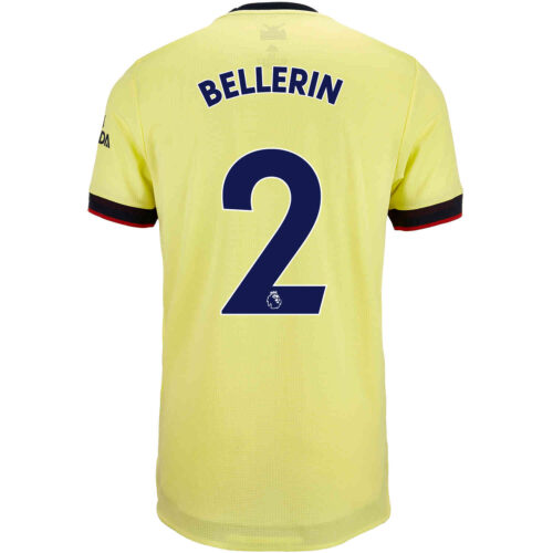 2021/22 adidas Hector Bellerin Arsenal Away Authentic Jersey
