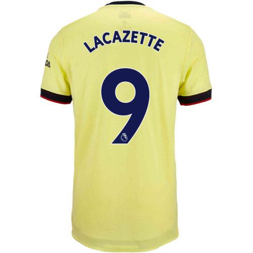 2021/22 adidas Alexandre Lacazette Arsenal Away Authentic Jersey