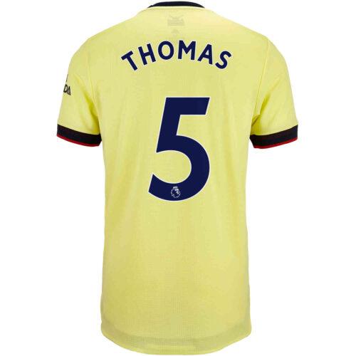 2021/22 adidas Thomas Partey Arsenal Away Authentic Jersey