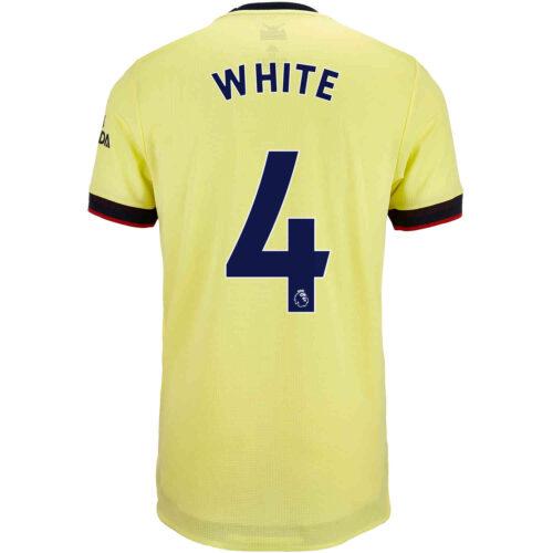 2021/22 adidas Ben White Arsenal Away Authentic Jersey