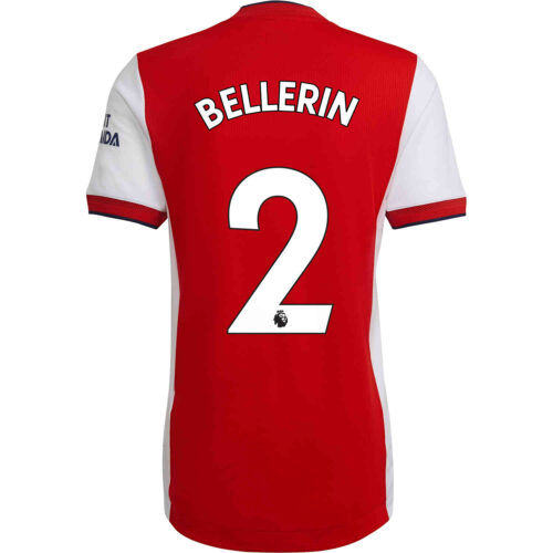 2021/22 adidas Hector Bellerin Arsenal Home Authentic Jersey