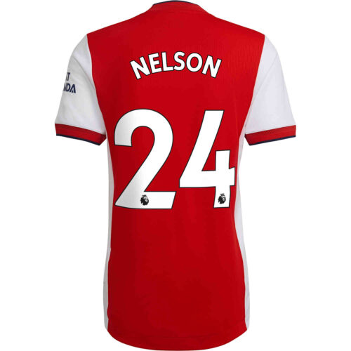2021/22 adidas Reiss Nelson Arsenal Home Authentic Jersey