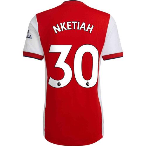 2021/22 adidas Eddie Nketiah Arsenal Home Authentic Jersey