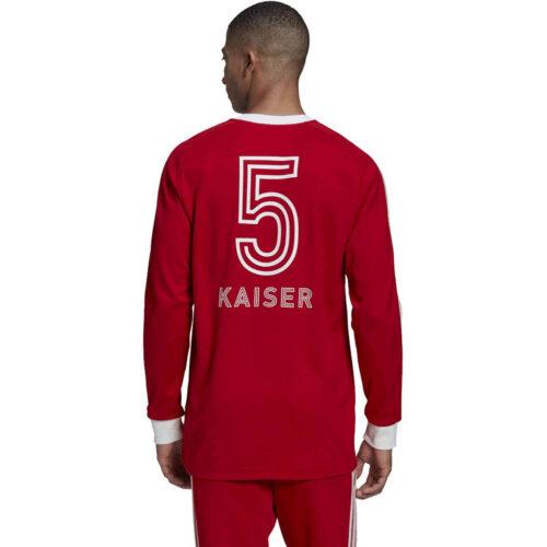 adidas Bayern Munich Icons Tee – White/Collegiate Royal/Fcb True Red