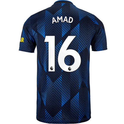 2021/22 adidas Amad Diallo Manchester United 3rd Jersey
