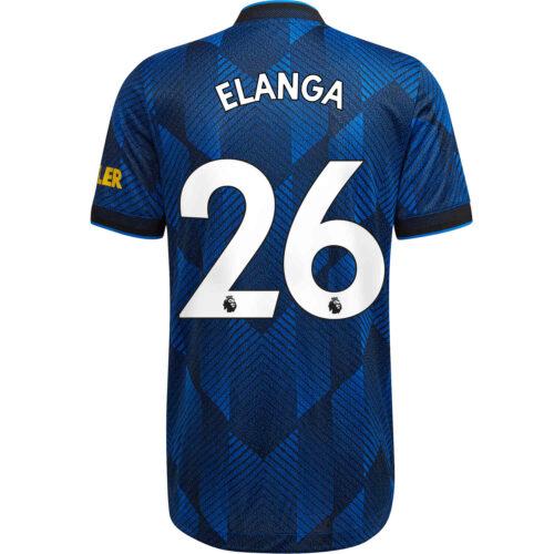 2021/22 adidas Anthony Elanga Manchester United 3rd Authentic Jersey