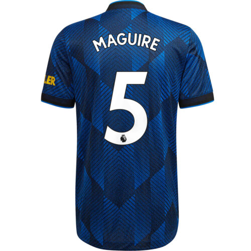 2021/22 adidas Harry Maguire Manchester United 3rd Authentic Jersey