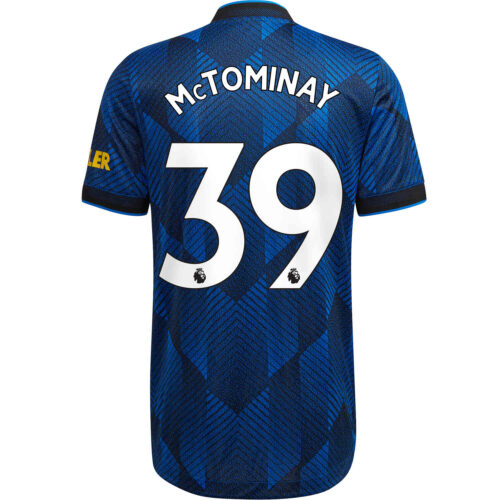 2021/22 adidas Scott McTominay Manchester United 3rd Authentic Jersey