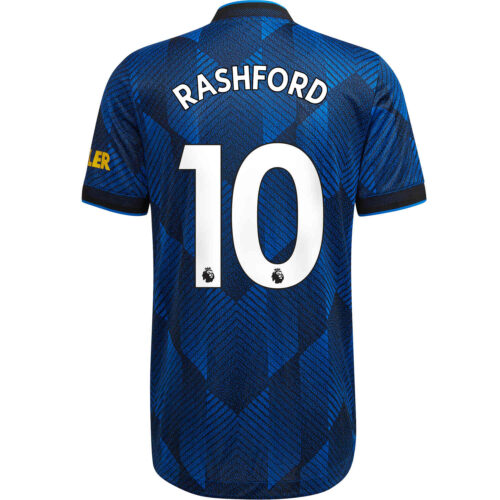 2021/22 adidas Marcus Rashford Manchester United 3rd Authentic Jersey