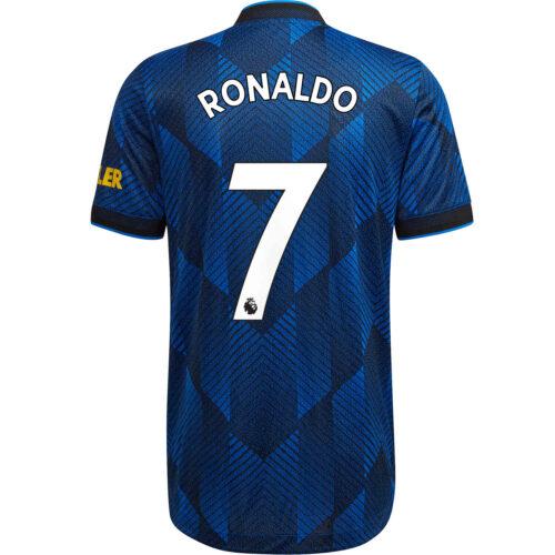 2021/22 adidas Cristiano Ronaldo Manchester United 3rd Authentic Jersey