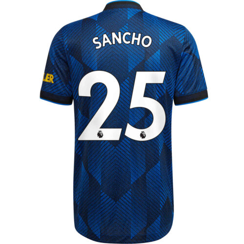 2021/22 adidas Jadon Sancho Manchester United 3rd Authentic Jersey