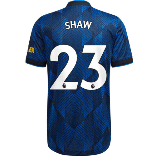 2021/22 adidas Luke Shaw Manchester United 3rd Authentic Jersey