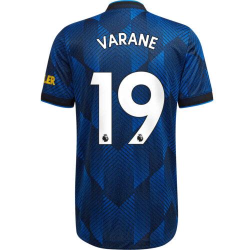 2021/22 adidas Raphael Varane Manchester United 3rd Authentic Jersey