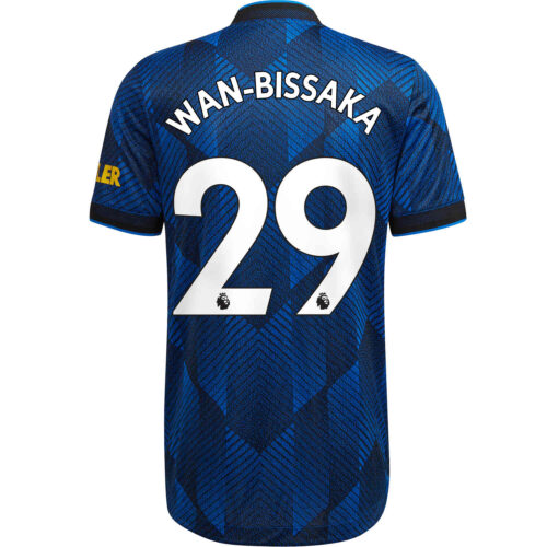 2021/22 adidas Aaron Wan-Bissaka Manchester United 3rd Authentic Jersey