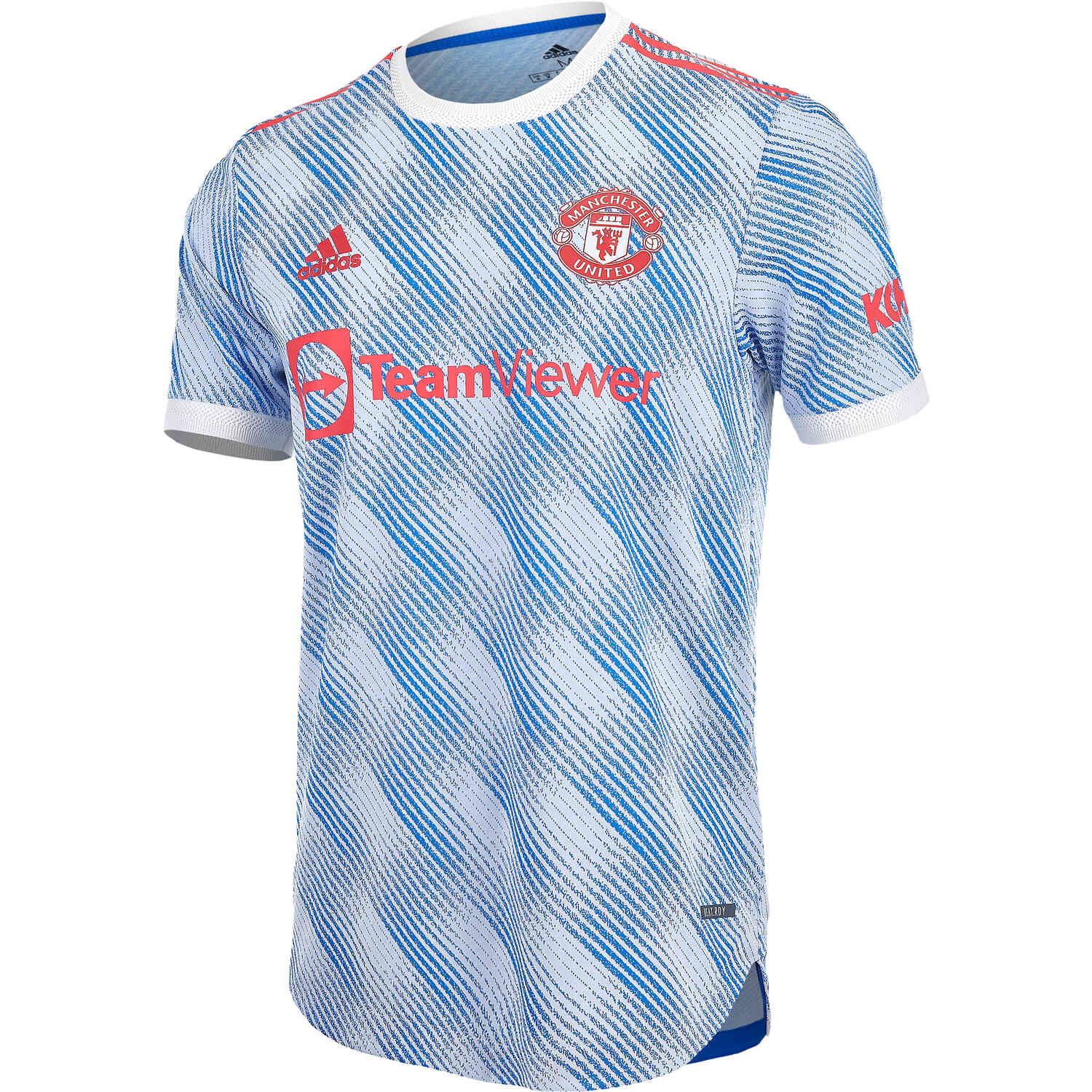 2021/22 adidas Manchester United Away Authentic Jersey - SoccerPro