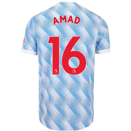 2021/22 adidas Amad Diallo Manchester United Away Authentic Jersey