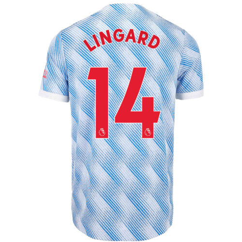 2021/22 adidas Jesse Lingard Manchester United Away Authentic Jersey