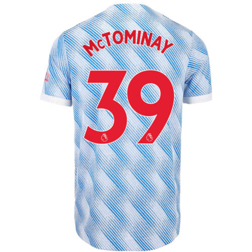 2021/22 adidas Scott McTominay Manchester United Away Authentic Jersey
