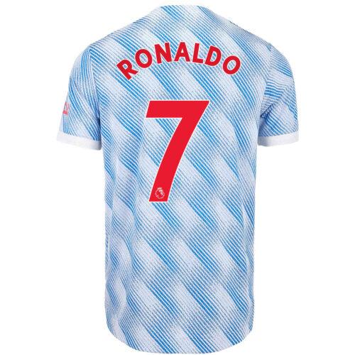 2021/22 adidas Cristiano Ronaldo Manchester United Away Authentic Jersey