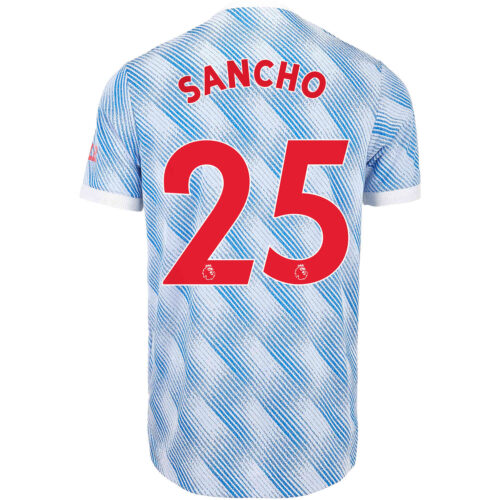 2021/22 adidas Jadon Sancho Manchester United Away Authentic Jersey