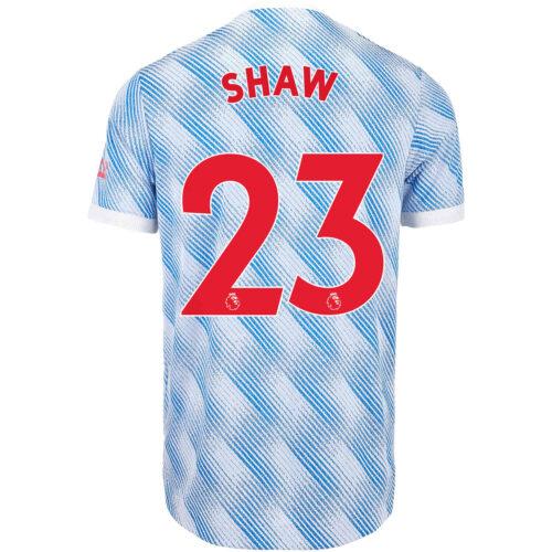 2021/22 adidas Luke Shaw Manchester United Away Authentic Jersey
