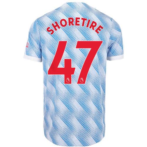 2021/22 adidas Shola Shoretire Manchester United Away Authentic Jersey