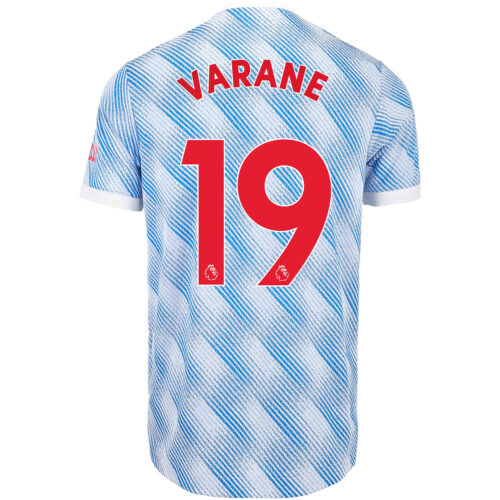 2021/22 adidas Raphael Varane Manchester United Away Authentic Jersey