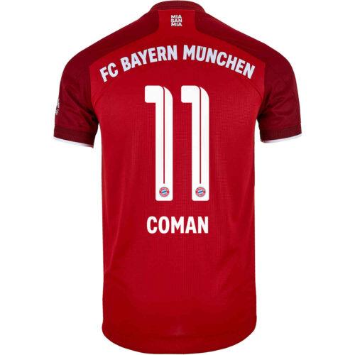 2021/22 adidas Kingsley Coman Bayern Munich Home Authentic Jersey