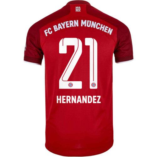 2021/22 adidas Lucas Hernandez Bayern Munich Home Authentic Jersey