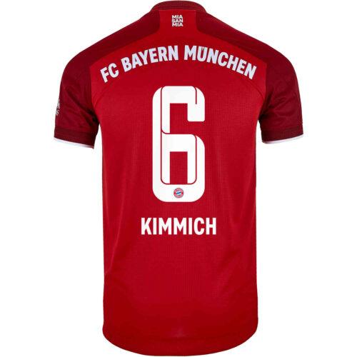 2021/22 adidas Joshua Kimmich Bayern Munich Home Authentic Jersey